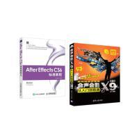 After Effects CS6 标准教程 ae教程书籍 AE软件视频教程 AE CC图像编辑从入门到精通教材书籍