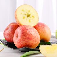 【包邮】延安红富士苹果洛川高原有机红富士苹果10斤装