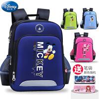 迪士尼书包小学生男童1-3-4年级儿童双肩包6-12周岁护脊女童背包