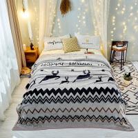 夏季毛巾被子毛毯加厚珊瑚绒毯子法兰绒床单午睡单人双人学生宿舍