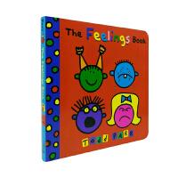 进口原版 The Feelings Book 我的感受 Todd Parr绘本 纸板书