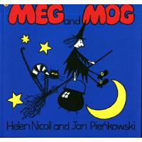 英文原版 Meg and Mog 女巫麦格和小猫莫格 [2-6岁]