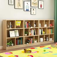 儿童书架儿落地小书架简约现代简易置物架幼儿园白玩具架儿童书柜