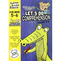 华研原版 英国小学英语阅读理解练习册5-6岁 英文原版小学教材 Let's Do Comprehension 进口书籍