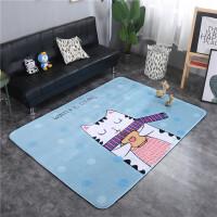 儿童爬行垫加厚婴儿地垫卡通动物客厅卧室地毯宝宝爬爬垫防滑家用 145*195cm