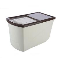 厨房家用防潮加厚米缸塑料密封防虫大米面粉装米桶储米箱10kg