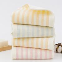 斜月三星 【3�l�b】全棉�布�l�y毛巾 全棉洗�面巾 成人男女通用款毛巾洗�巾