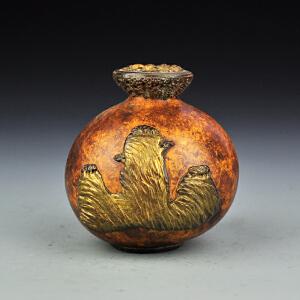 漆器葫芦小罐