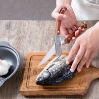 不锈钢鸡骨剪家用多功能辅食剪刀厨房多用食品骨头剪子强力食物剪