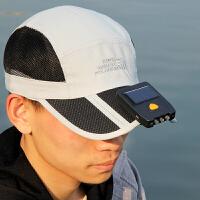 户外夹帽灯led钓鱼灯太阳能感应头灯强光充电式锂电夜钓帽檐灯