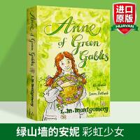 绿山墙的安妮 英文原版小说 Anne of Green Gables 经典儿童文学读物 马克吐温推荐 儿童成长故事 英