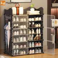 �易鞋柜家用室�群每唇���型鞋架子多�臃�m大容量放�T口收�{神器