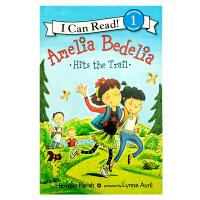 英文原版 Amelia Bedelia Hits the Trail[4-8岁]