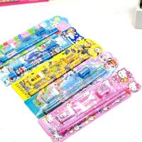 儿童铅笔橡皮卷笔刀套装组合辅导班小班礼品幼儿园文具小学生礼物