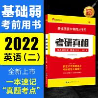 太阳城考研1号 2022考研英语二考研圣经考点速记版