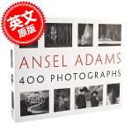 现货 安塞尔・亚当斯 摄影艺术画册 英文原版 Ansel Adams' 400 Photographs 400幅黑白作