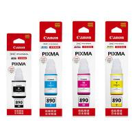 原装正品 Canon/佳能 佳能890墨水 GI-890BK黑色墨水 GI-890C青色墨水 GI-890M红色墨水 G