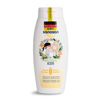 德国哈罗闪 儿童二合一洗发沐浴露天然温和保湿润肤香蕉香型250ml