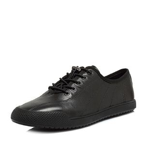Teenmix/天美意2018夏专柜同款软面牛皮平跟男休闲鞋BQJ15BM8