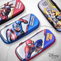 迪士尼文具盒女儿童小学生1-3年级多功能可爱铅笔袋简约小男孩变形金刚笔袋