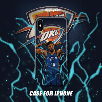 NBA篮球雷霆队保罗乔治iphoneXsMax手机壳苹果Xr/8软壳7plus磨砂6