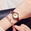 聚利时(Julius)新款女士手表小巧皮带手表女石英表时装防水女表 JA-995
