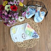 婴儿枕巾六层纱布吸汗枕头巾小枕巾枕巾