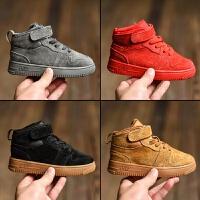 儿童运动鞋男童鞋子2018新款秋防滑韩版女童板鞋二棉鞋篮球鞋