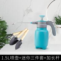 喷壶浇花喷雾瓶园艺家用洒水壶气压式喷雾器压力浇水壶小型喷水壶 Pro版+园艺三件套