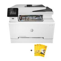 惠普M180n/M181fw/M280/M281彩色激光打印机一体机M280nw无线网络商务办公照片打印机一体机标配