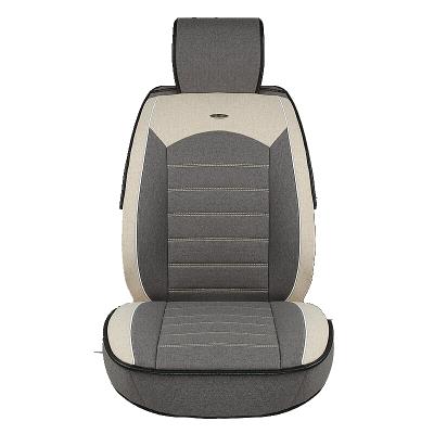 秋季亚麻坐垫四季全包雪铁龙C4L新爱丽舍C5世嘉C3-XR专用汽车座套
