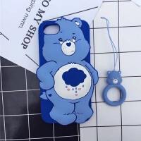 20190529124726292可爱卡通苹果6/6s plus手机壳 彩虹熊软iPhone7/7 plus防摔保护套