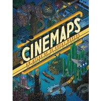 Cinemaps: An Atlas of 35 Great Movies 英文原版 电影里的地图:35部经典电影 侏罗纪公园 星球大战 星际迷航 指环王……