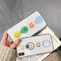 ins韩风可爱笑脸8plus苹果x手机壳XS Max/XR/iPhoneX/7p/6女iphone6 I6/6s tp