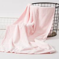 小孩浴巾加厚浴巾 儿童浴巾婴儿洗澡游泳裹巾 60x120cm
