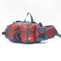 大容量双肩户外腰包多功能运动旅行背包男女登山骑行水壶腰包防水 尼龙防水 大容量