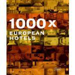 【预订】1000x European Hotels 9783938780305