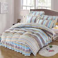 床罩床裙四件套 1.8m公主风被套床套三件套1.5米床上用品