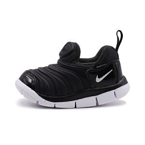 耐克(Nike)儿童鞋毛毛虫童鞋舒适运动休闲鞋343938-013 黑色