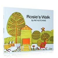 英文原版绘本 母鸡萝丝去散步 Rosie's Walk Pat Hutchins 廖彩杏书单 3-6岁儿童英语启蒙早教认