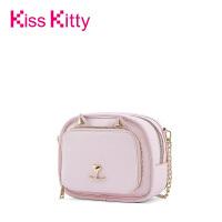 Kiss Kitty女包2017新款韩版时尚链条单肩斜挎包学院百搭小方包潮