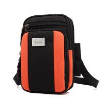 大屏手机腰包 穿皮带挂包多功能 迷你单肩包男士腰带手机包斜挎包