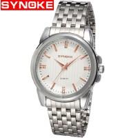 时诺刻 电子手表 手表时尚男士石英表钢带潮流款商务 生活防水外 时尚潮
