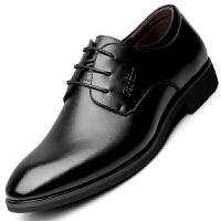 波图蕾斯男鞋秋冬季新品商务休闲鞋时尚英伦正装鞋休闲皮鞋 6181