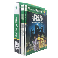 英文原版 World of Reading Star Wars Boxed Set