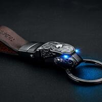 百诚汽车钥匙扣编织男士貔貅个性创意钥匙链简约高档钥匙挂件礼品