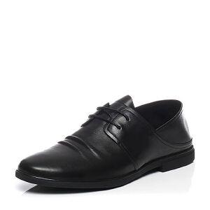 Belle/百丽夏季专柜同款牛皮鞋面褶皱男休闲鞋4UR11BM7