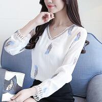 2018秋装新款韩版女装时尚衣服洋气小衫初秋上衣早秋打底衫女长袖
