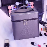 新款大容量可定制可爱便捷化妆包旅行手提大号化妆箱双层收纳盒