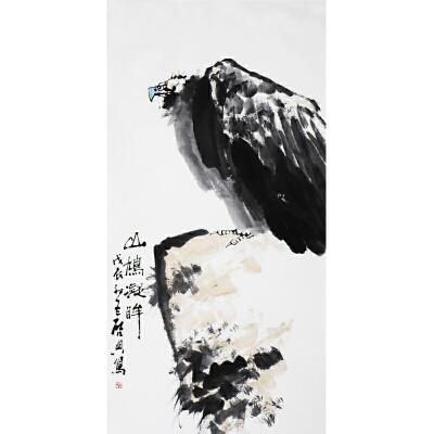 乍启典《老鹰》     b43